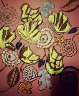 Fleurs art deco