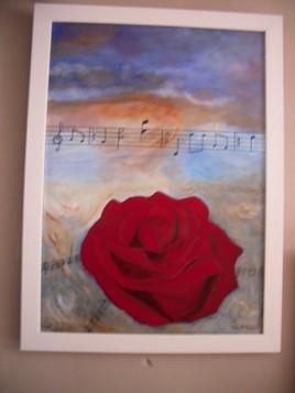 La rose en Musique