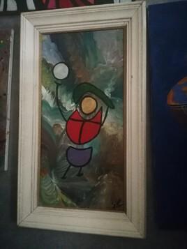 Peinture acrylique comtemporaine
