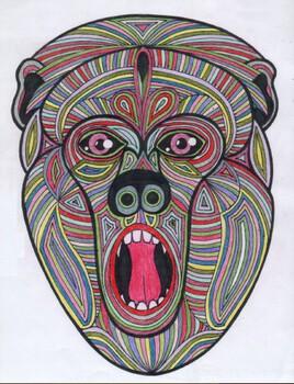 Primate surpris