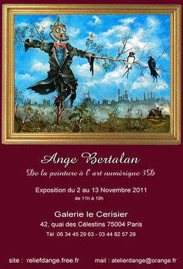 affiche exposition art