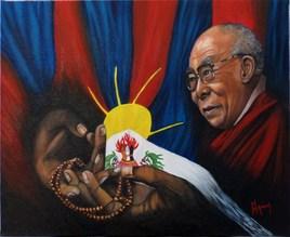 "Les 3 symboles ""Dalaï-Lama"