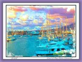 Le port de Playa Blanca (Lanzarote)