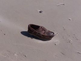 Lacet. Là par la marée.