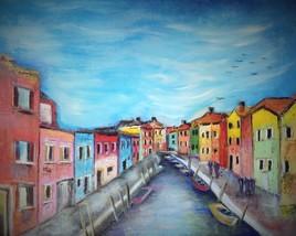 Petit port coloré