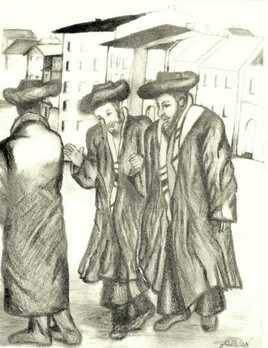 les trois talmidim