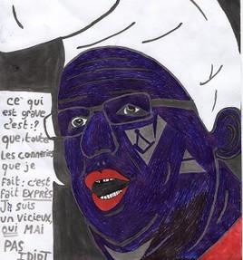 caricature François hollande.
