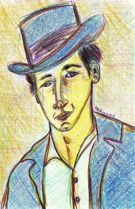 Au début je voulais dessiner Paul Newman, mais...