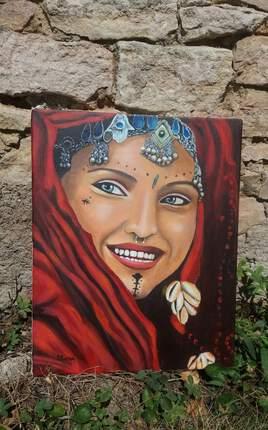 Femme berbère de Mauritanie