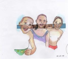 Enfants l'été