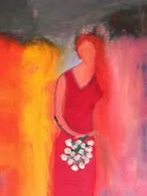 La demoiselle au bouquet