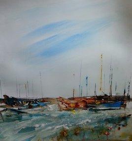 bateaux sur l'eau (lalalalala)