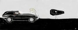Jaguar type e - Harold & Maude