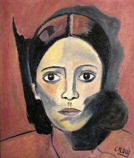 """Mon interprétation de """"Olga Khokhlova"""" Muse et Femme de Picasso"""