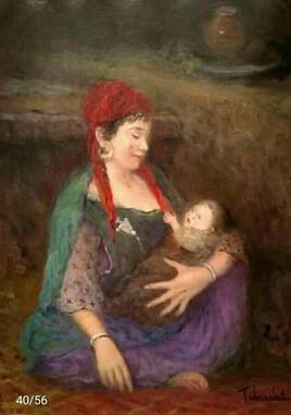 Femme avec son enfant