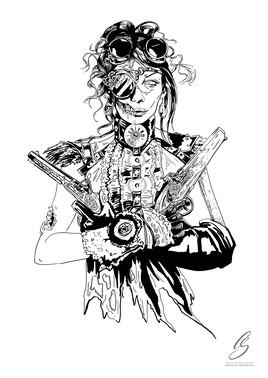 """""""Zombi Girl"""""""