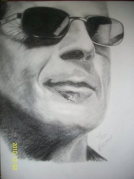 Portrait Bruce Willis