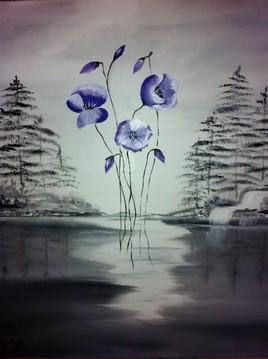 hiver fleuri