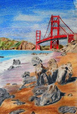 San Francisco d'après carte postale