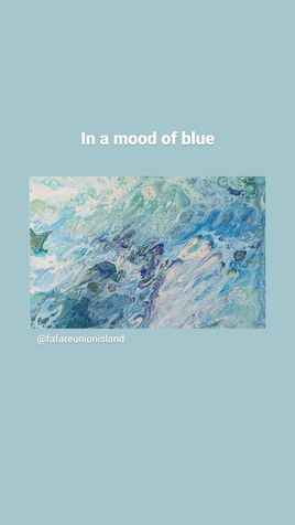 In a mood of blue