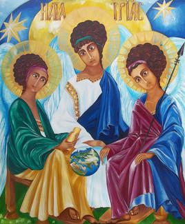 The Holy Trinity. Martynova Elena