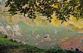 Impression d'automne sur lac