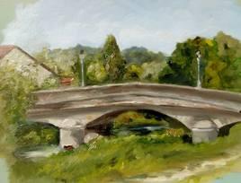 Le pont du village de mon enfance