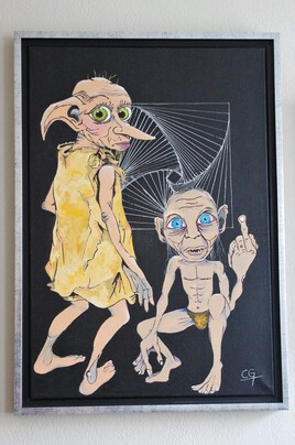 Rencontre Dobby/Gollum