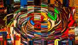 Abstract photography color geometrie