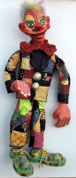 """Marionnette """"clown"""" JfG Jf Gantner"""