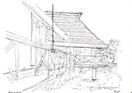 Mairie de Maupiti (Polynésie)