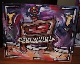 Peinture Piano