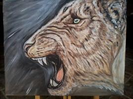 gueule nocturne du lion