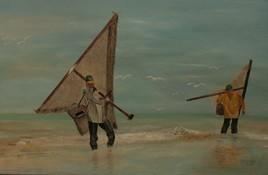 2017- Pêcheurs de crevettes à Dunkerque