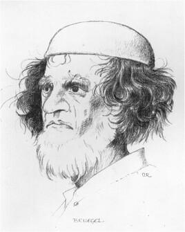 Peter Brueghel d'après gravure de Brueghel