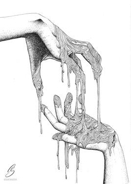 """ jeu de mains"""