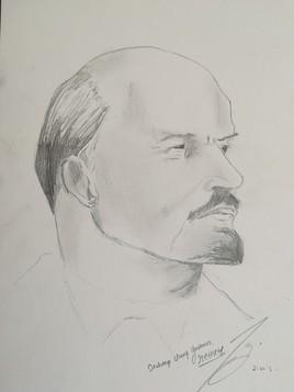 V.I.O. Lénine -- Владимир Ильич Ульянов, Ленин.