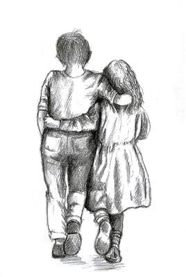Jeunes amoureux