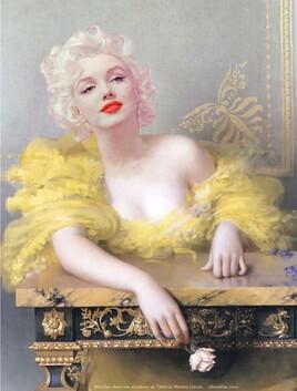 Marilyn revisite un Vittorio Matteo Corcos..