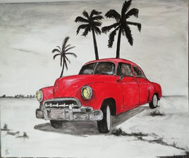 voiture américaine à cuba 2