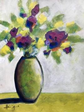 Bouquet de violets