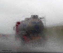 rouler sous la pluie..