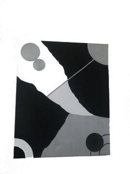 NUANCE DE NOIR/GRIS/BLANC