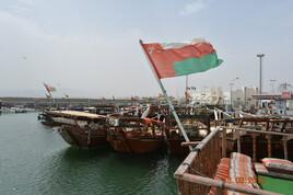 le port de Dibba, Sultanat d'Oman