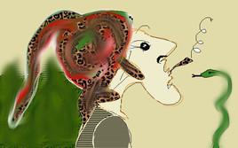 charmeur de serpent