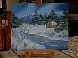 hiver a la montagne