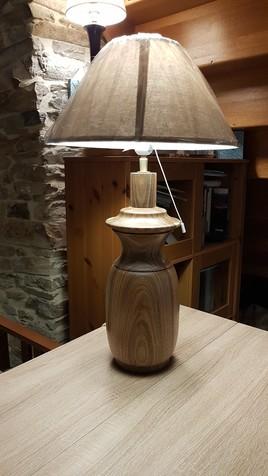 lampe amphore
