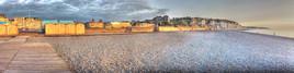 Couché de soleil sur Dieppe