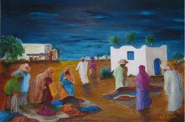 Le marché berbère