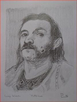 """Lemmy Kilmister    """"Motörhead"""""""